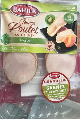 Filet de poulet cuit fumé nature Bahier - Produit