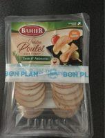 Filet de poulet cuit fumé thym/aromates Bahier - Produit - fr