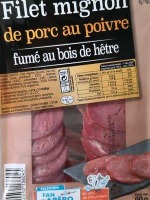 Filet mignon de porc au poivre - Produit