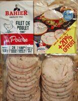 Filet de poulet fumé au poivre - Produit - fr