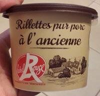 Rillettes du Mans porc fermier label rouge BAHIER - Produit - fr