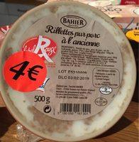 Rillettes pur porc a l'ancienne - Produit - fr