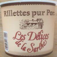 220G Rillettes Pur Porc - Produit - fr