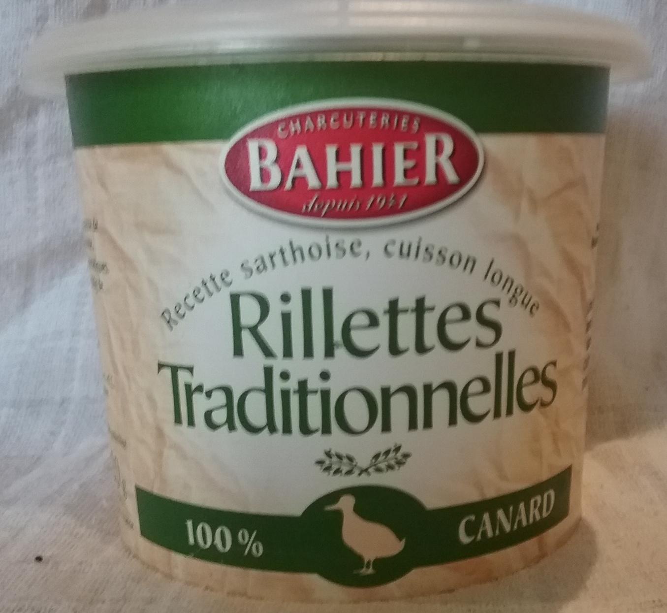 Rillettes Traditionnelles 100% canard - 220 g - Régis Bahier - Produit - fr