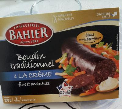 Bahier boudin noir a la creme - Produit