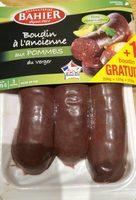 Boudin noir pommes Bahier - Produit - fr