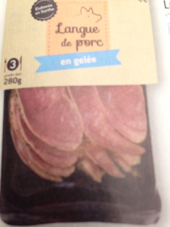 Langue de porc en gelee - Produit - fr