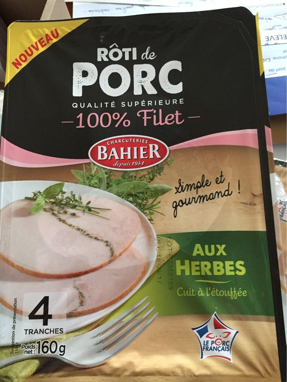 Roti de porc aux herbes - Produit - fr