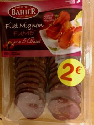 Filet mignon fumé aux 5 baies - Produit - fr