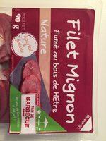 Filet Mignon Fumé au bois de Hêtre - Produit - fr