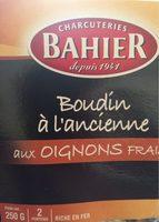 Boudin à l'ancienne aux oignons frais - Produit - fr