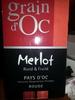 Merlot - Product