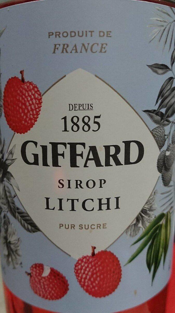 Giffard Litschi Sirup Maxi - Produit - fr