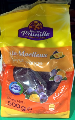 Le Moelleux Prune Orange - Produit