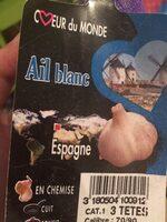 Ail blanc - Ingredienti - fr