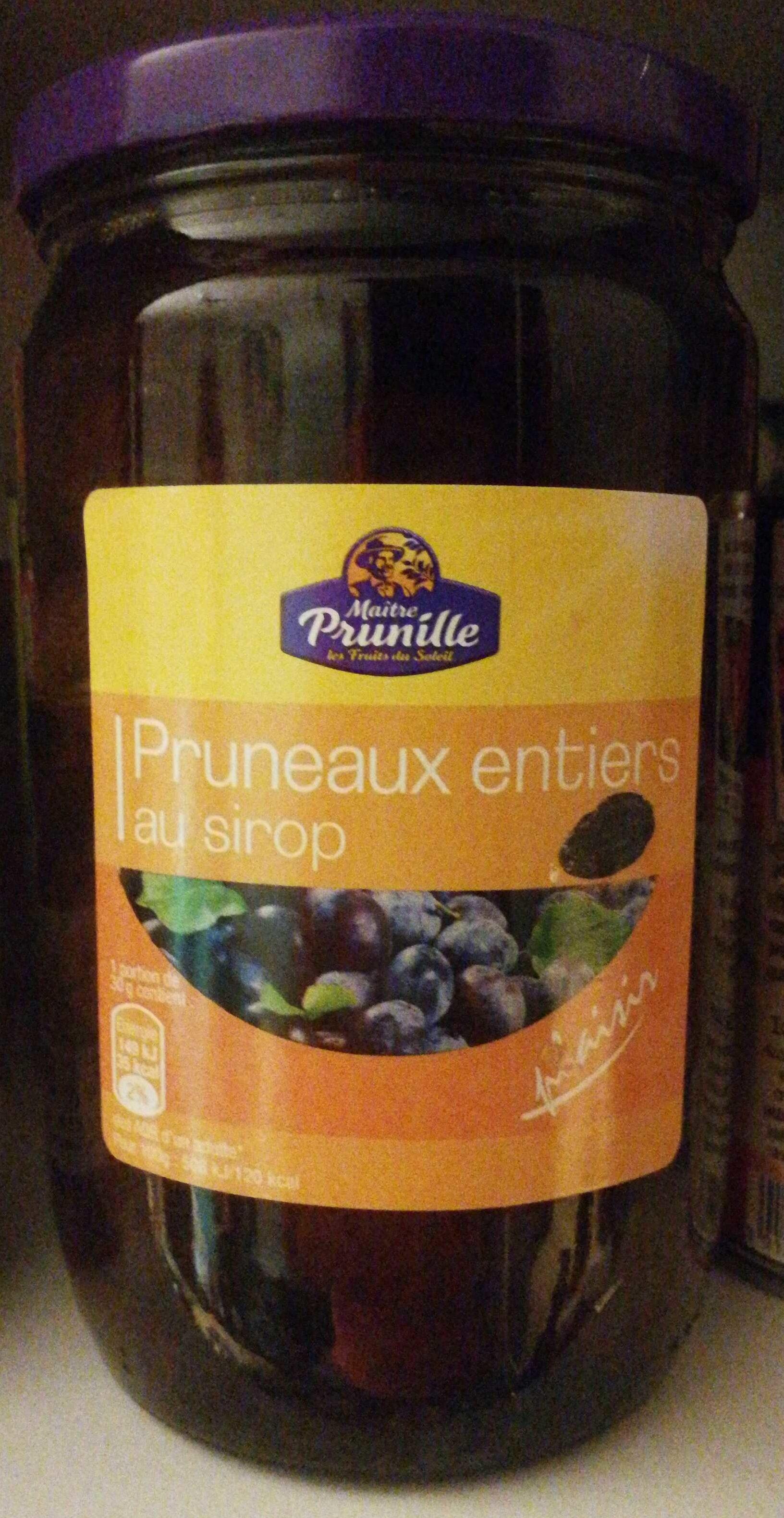 Pruneaux entiers au sirop - Produit - fr