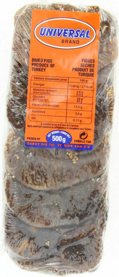 Figues sèches layer - Produit - fr