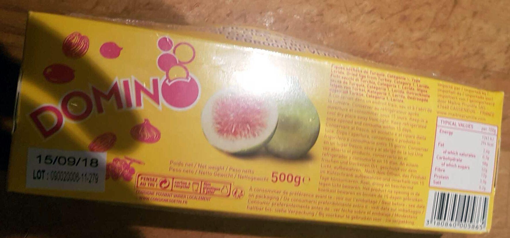 Figues séchées 500GR DOMINO - Product - fr