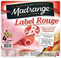 Jambon cuit supérieur Label Rouge sans couenne - Produit - fr