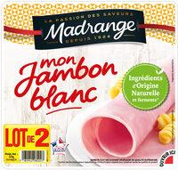 Mon jambon blanc - Product - fr
