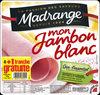 Mon Jambon Blanc 4+1 tranche gratuite - Produit