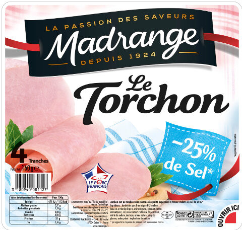 Le Torchon -25% de Sel* VPF 4tr - Produit - fr