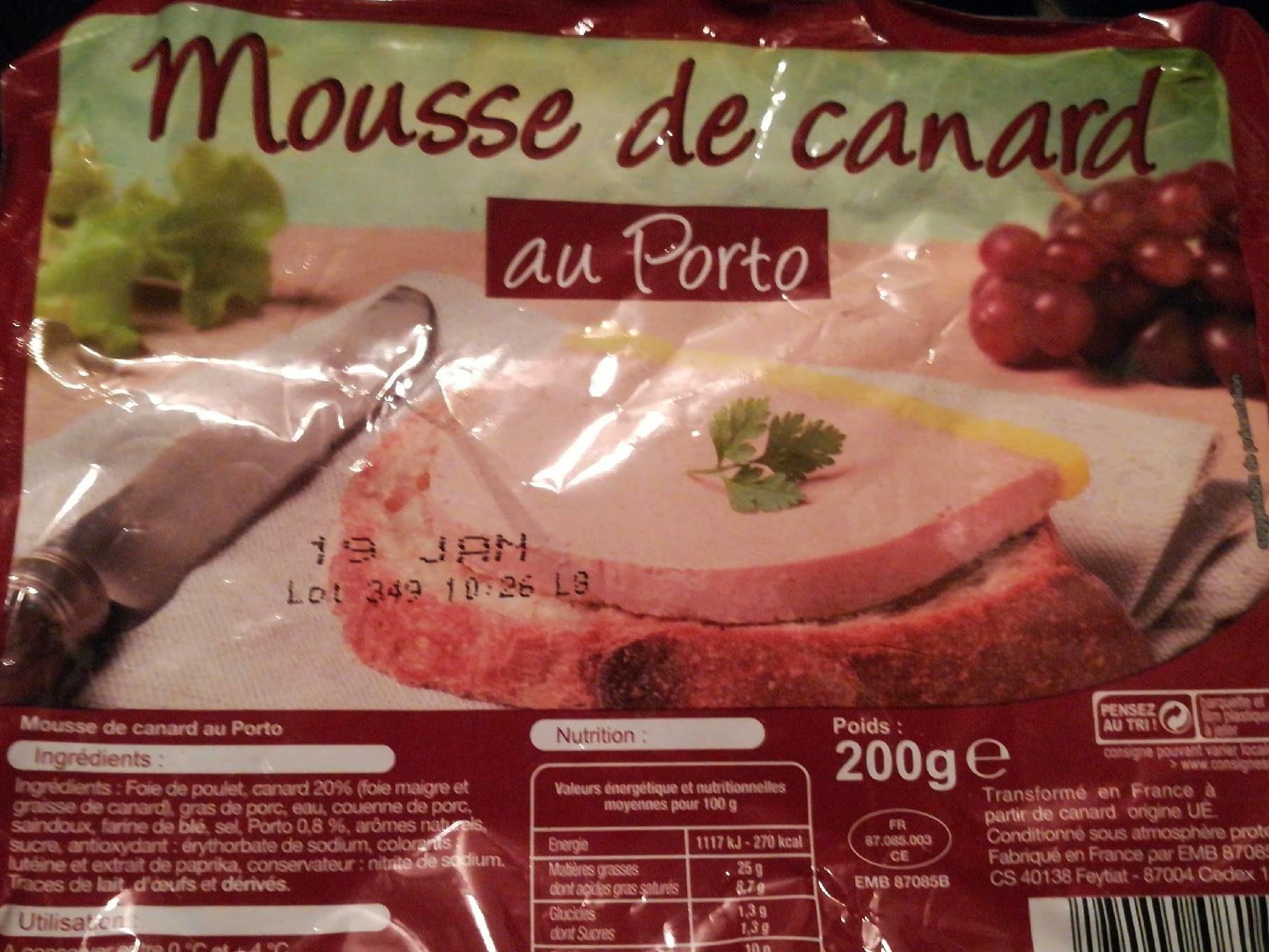 Mousse de canard au porto - Produkt