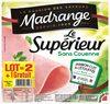 Jambon blanc madrange 4t - Produit