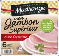 Mon Jambon Supérieur avec couenne VPF 6tr - Product - fr