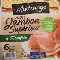Mon Jambon Supérieur à l'étouffée VPF 6tr - Product - fr