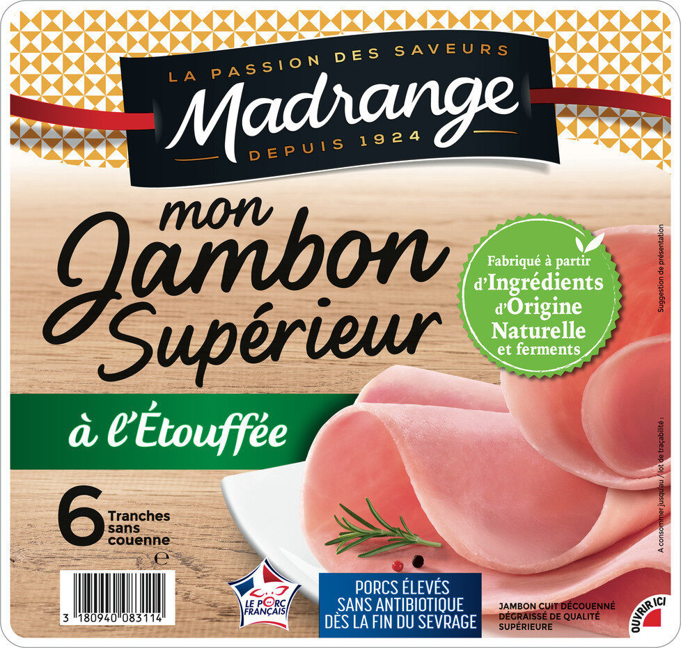 Mon Jambon Supérieur à l'Étouffée - Product - fr