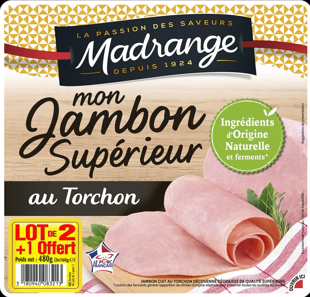Mon Jambon Supérieur au Torchon lot 2+1 offert - Product - fr