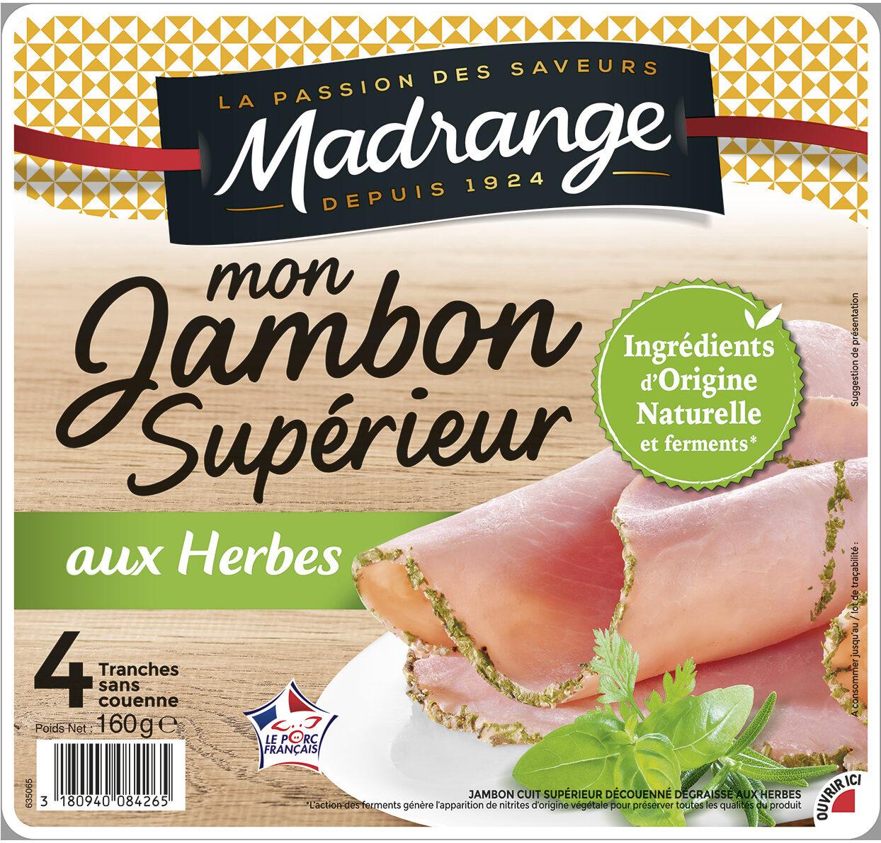 Mon Jambon Supérieur aux herbes VPF 4tr - Product