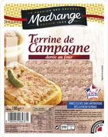 Terrine de campagne dorée au four VPF - Produit - fr