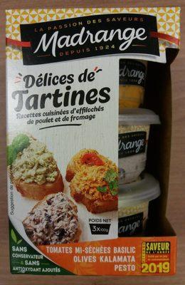 Délices de tartines méditerranéennes - Product