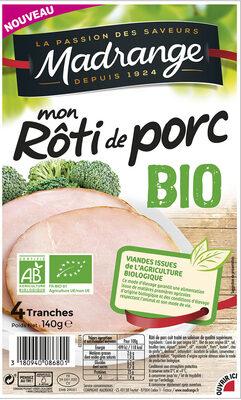 Mon Rôti de porc BIO - Product