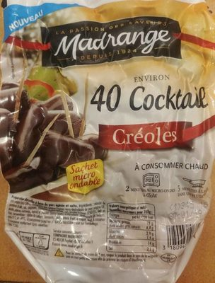 40 cocktail créoles - Produit - fr