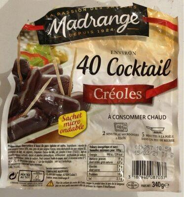 Coktail Créoles - Produit