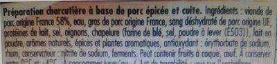 Coktail Créoles - Ingrédients