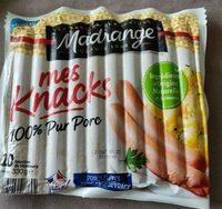 Knacks 100% Pur Porc - Product - fr