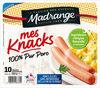 Mes Knacks 100% pur porc x10 - Product
