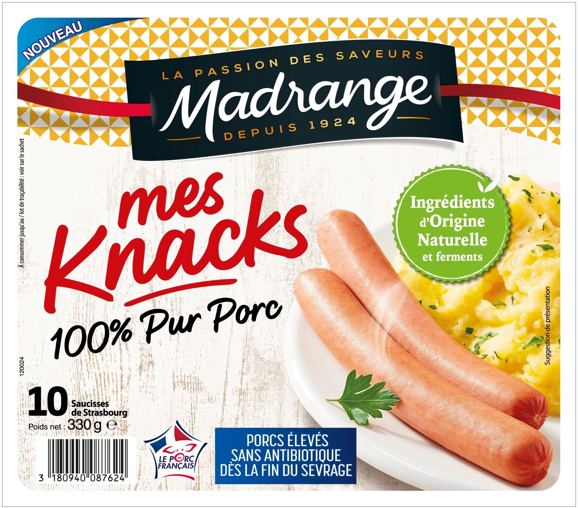 Knacks 100% Pur Porc - Product