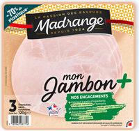 Mon Jambon + sans couenne - Product - fr