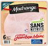Mon Jambon Blanc Conservation sans nitrite - Product