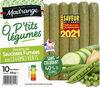Recette de saucisses fumées aux légumes verts Ô P'tits Légumes - Product