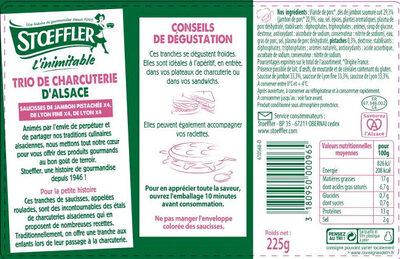 Assiette Alsacienne - Produit - fr