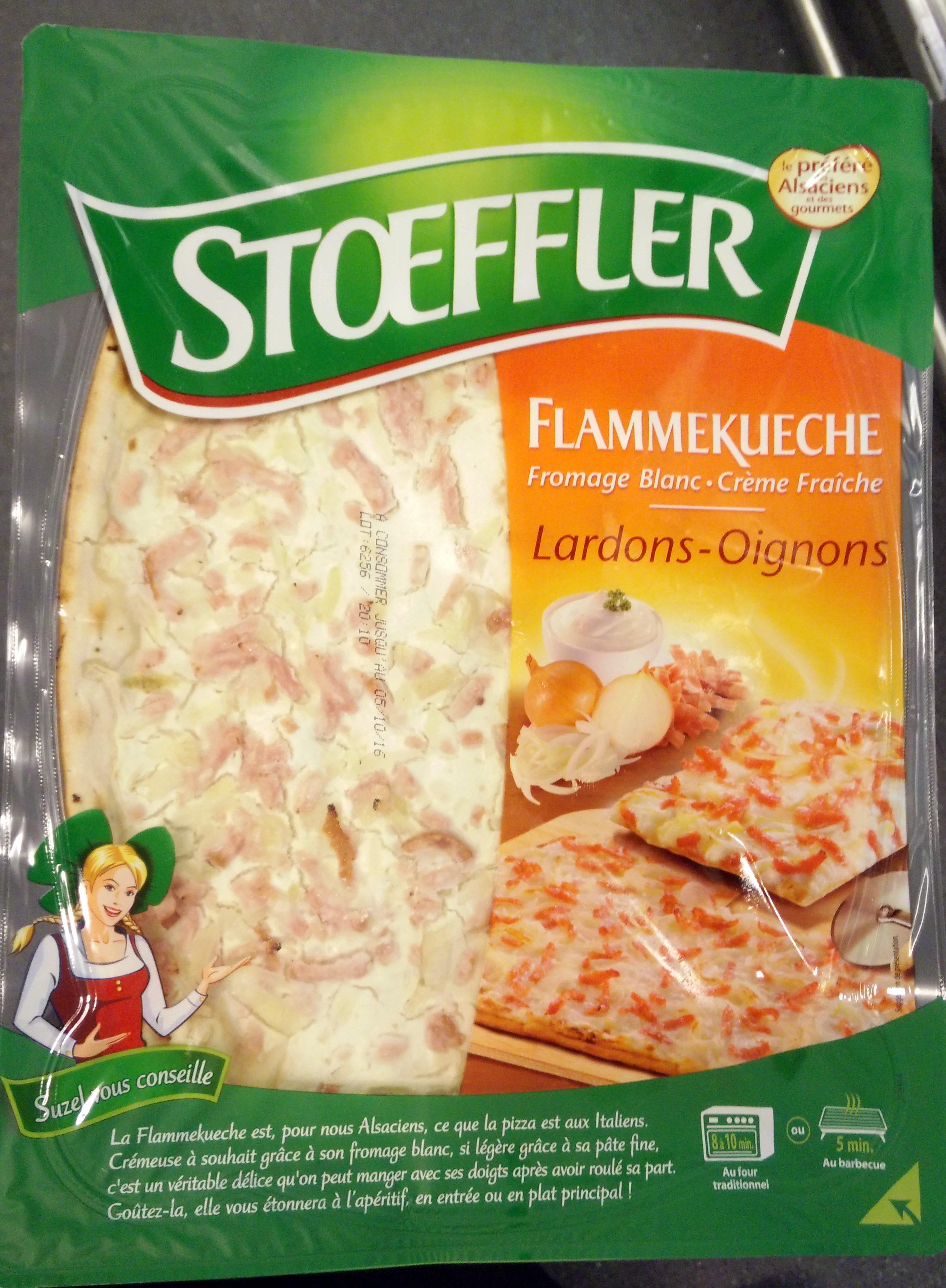 Flammekueche Lardons - Oignons - Product