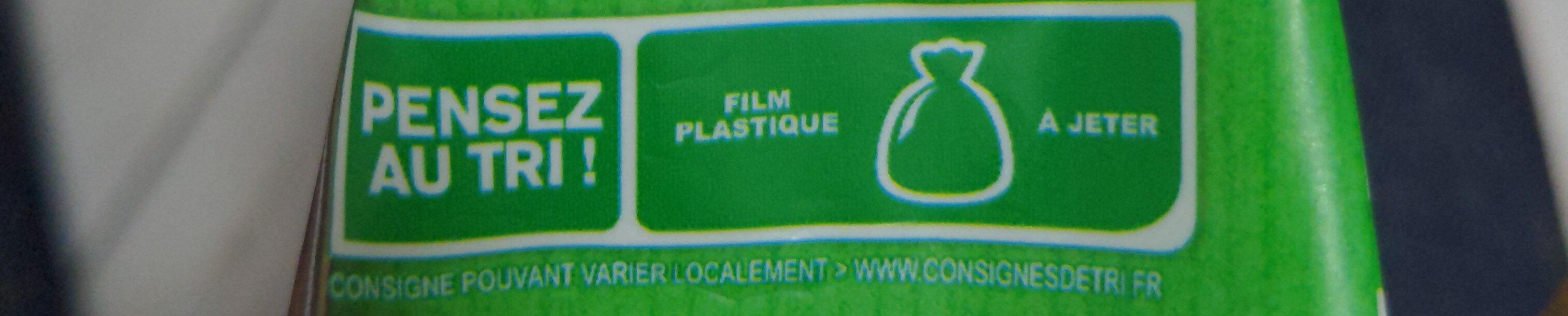 Spaetzle à poêler - Instruction de recyclage et/ou information d'emballage - fr