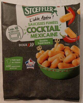 Saucisses fumées Cocktail Mexicaine - Produkt - fr
