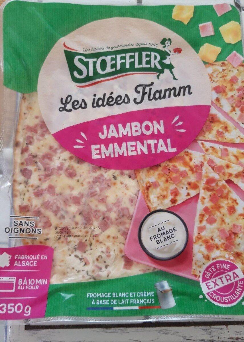 Les idées Flamm jambon emmental - Produkt - fr